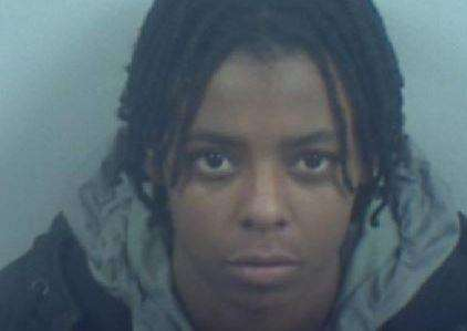 Tia McLean has been jailed for two-and-a-half years for dealing in Gillingham