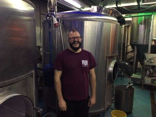 Head brewer Ian loves nothing better than a new challenge and is delighted the brewery in now able to sell its beer in cans