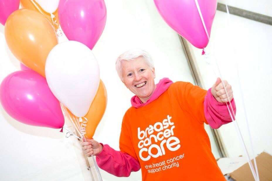 Breast cancer support volunteer Steph Harrison