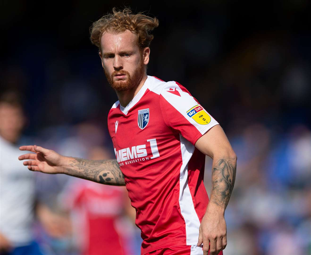 Gillingham defender Connor Ogilvie Picture: Ady Kerry