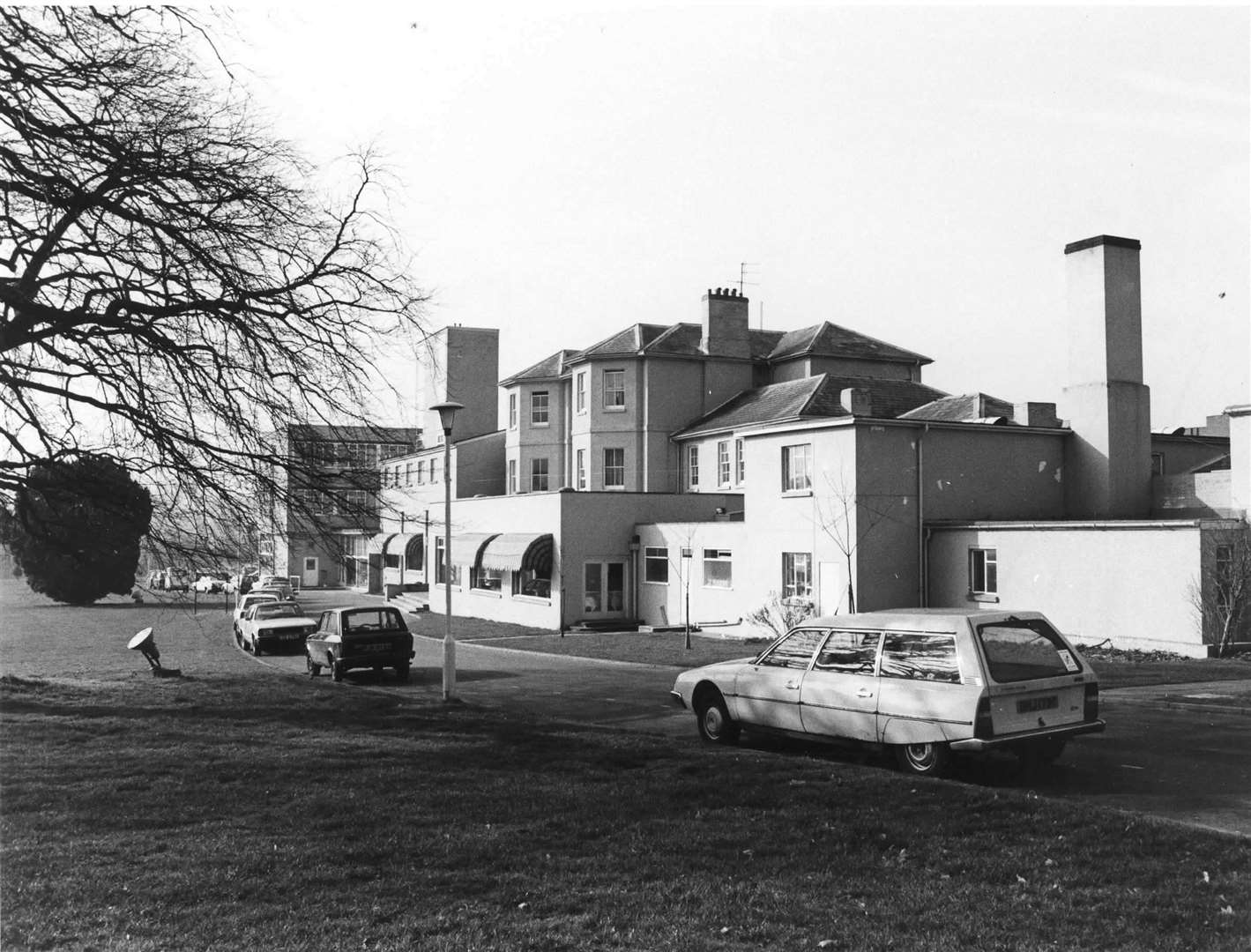 Great Danes Hotel in Hollingbourne in 1984