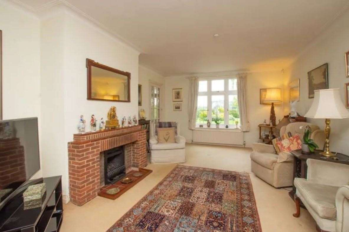 The sitting room with exposed fireplace. Picture: Zoopla / Colebrook Sturrock