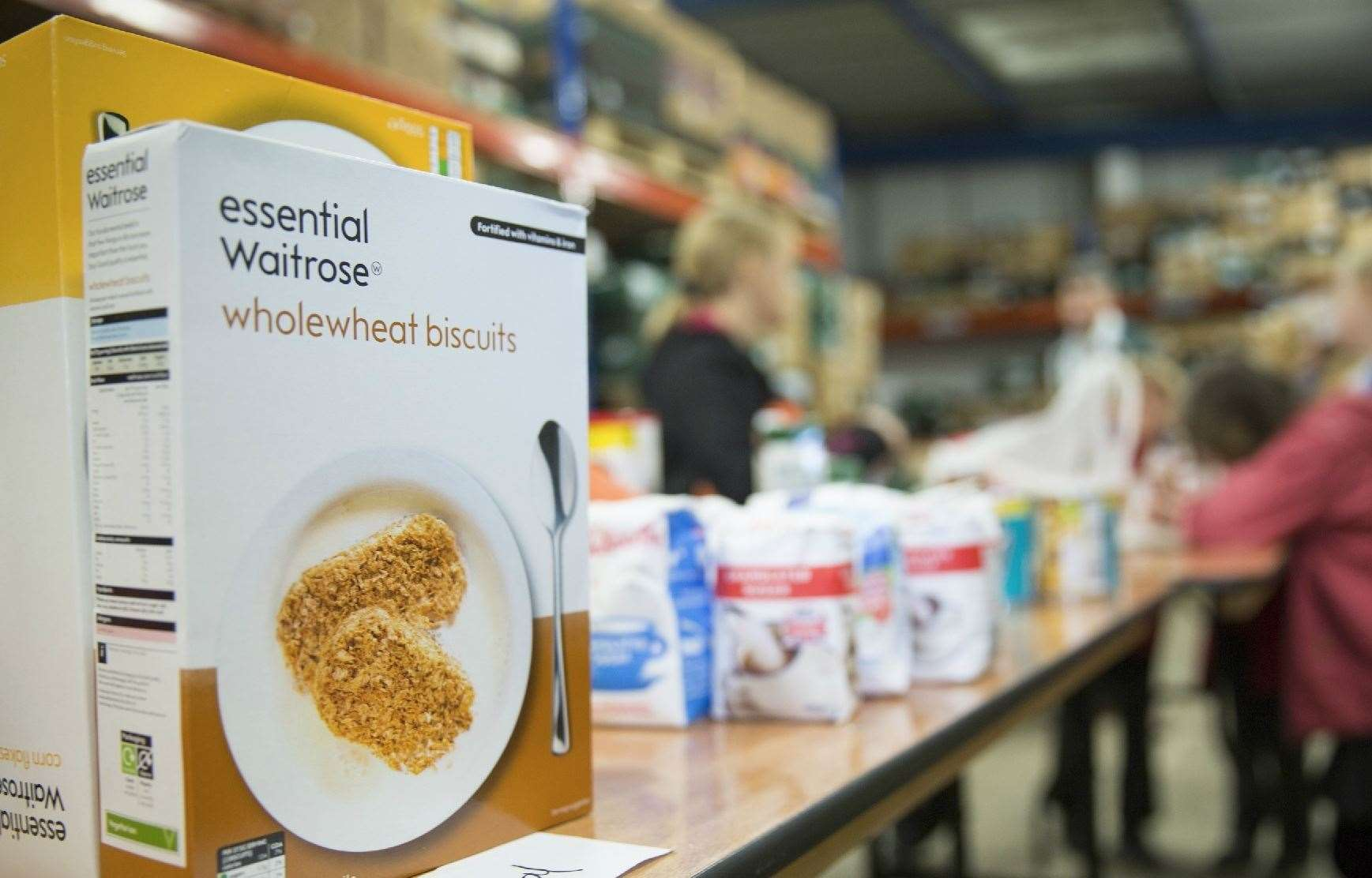 Increase In Kent Families Relying On Food Banks Says