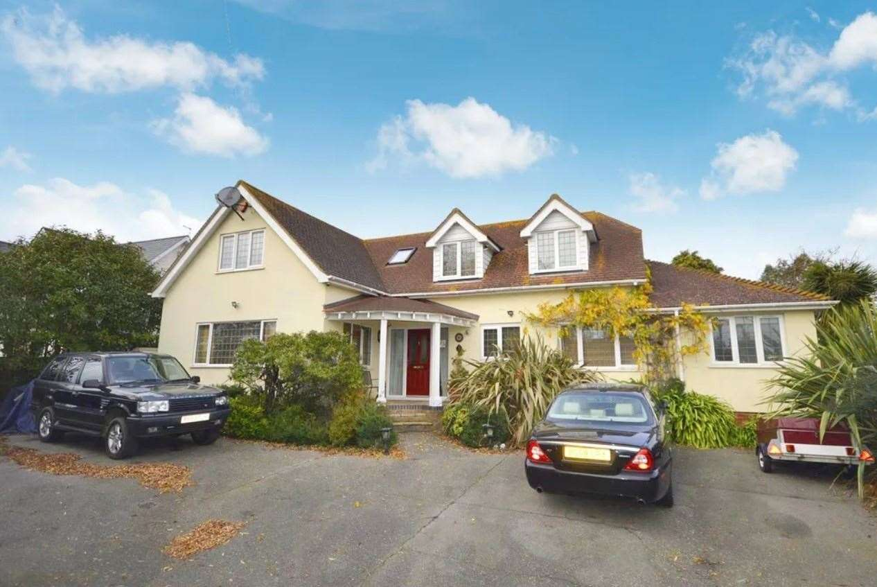 The four-bed detached house in Broomfield Road. Picture: Zoopla / Zest