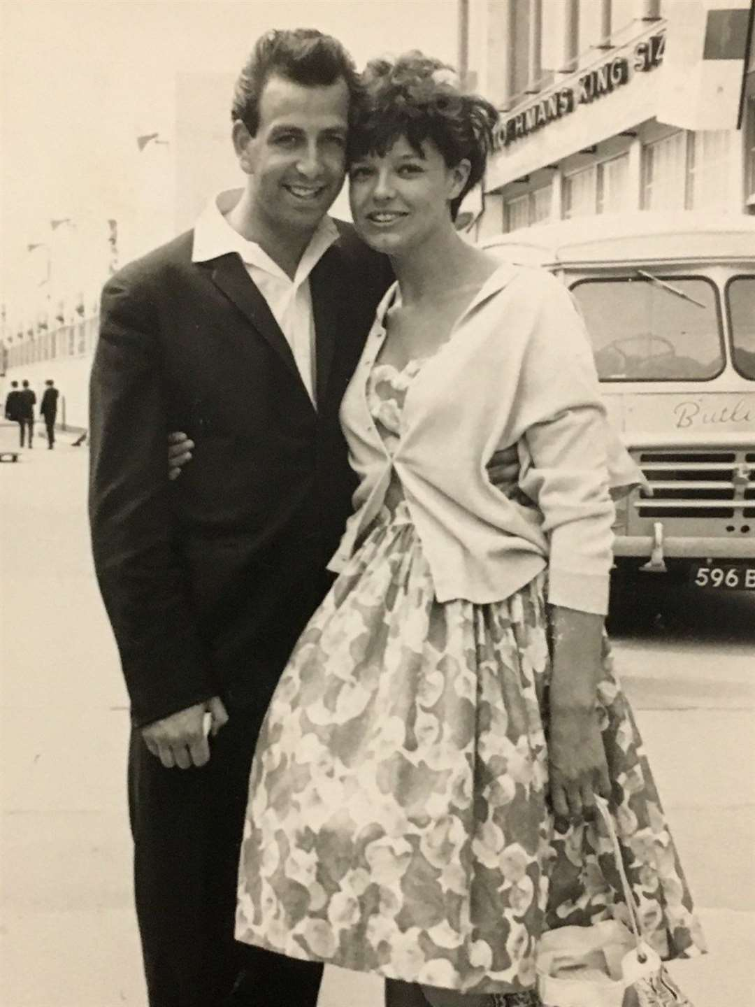 Back then: when comedian Don Maclean, then a Warners' Greencoat, met his wife Toni on the Isle of Sheppey in 1963 (23614369)