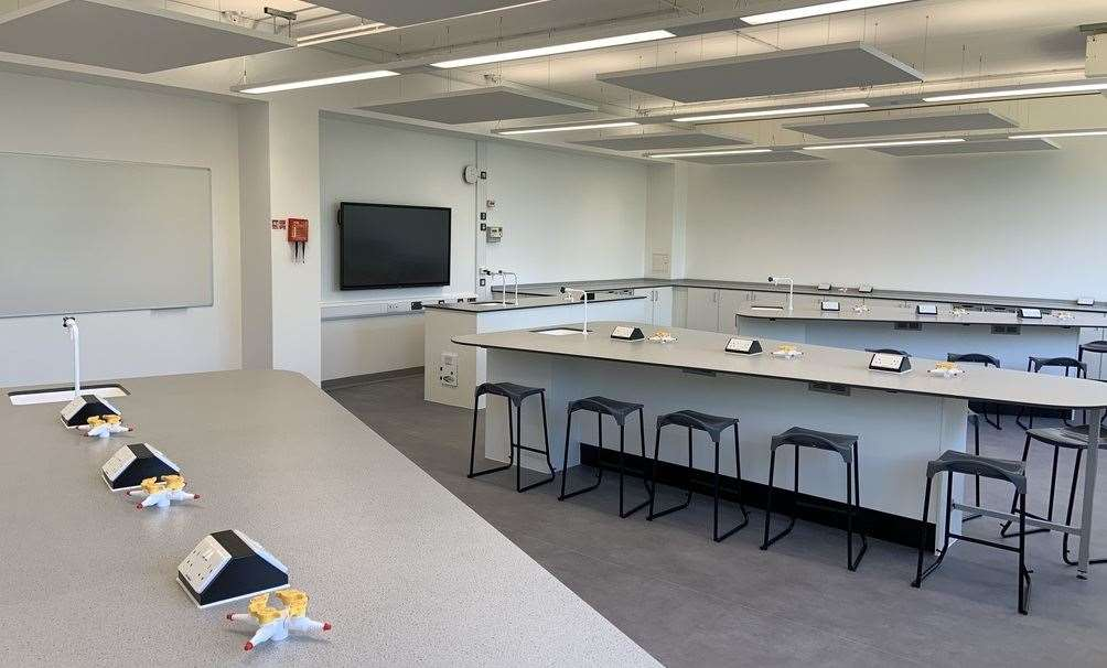 The School of Science and Technology Maidstone will specialise in STEM subjects. Picture: VIAT