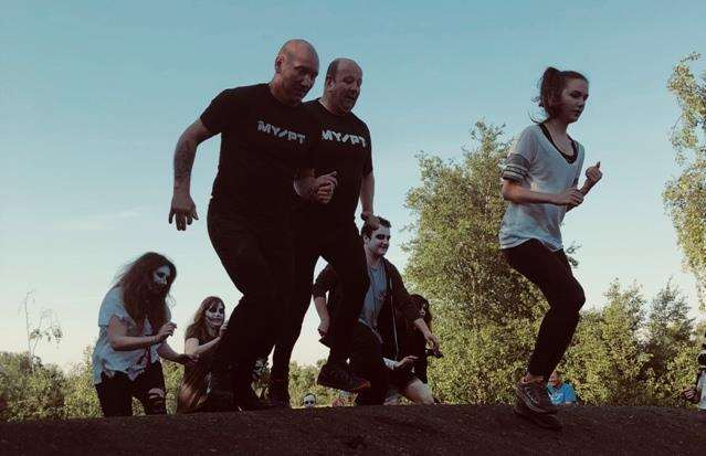 Dare you take on the KM Charity Team's Zombie Charge challenge in Betteshanger Park this October? (3483064)