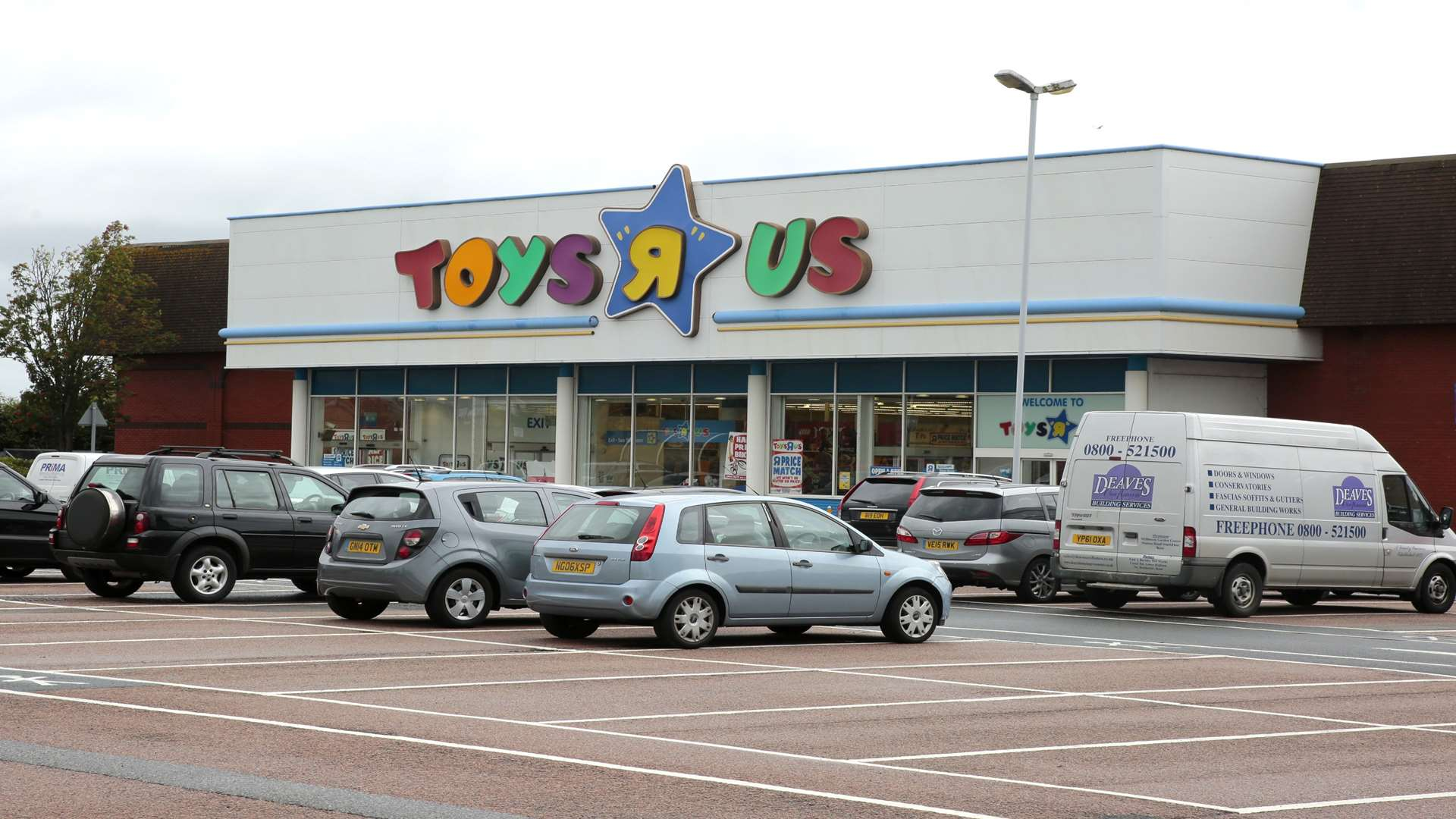 The Toys R Us store in Horsted Retail Park, Chatham