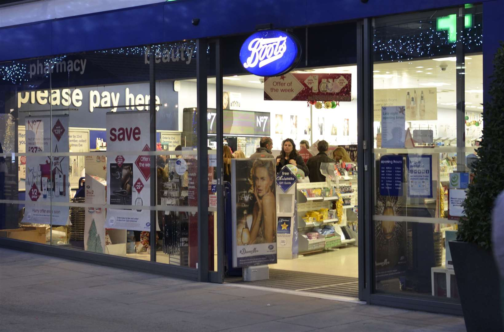 The Boots branch at Fremlin Walk in Maidstone