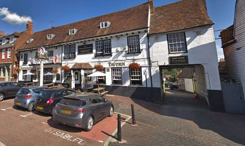 The George and Dragon pub in Westerham. Picture: Google Streetview