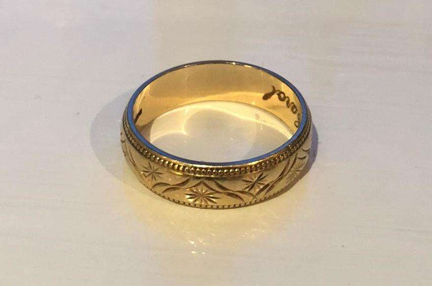 The ring was found in Seasalter. Picture: Sadie Cunningham (6439369)