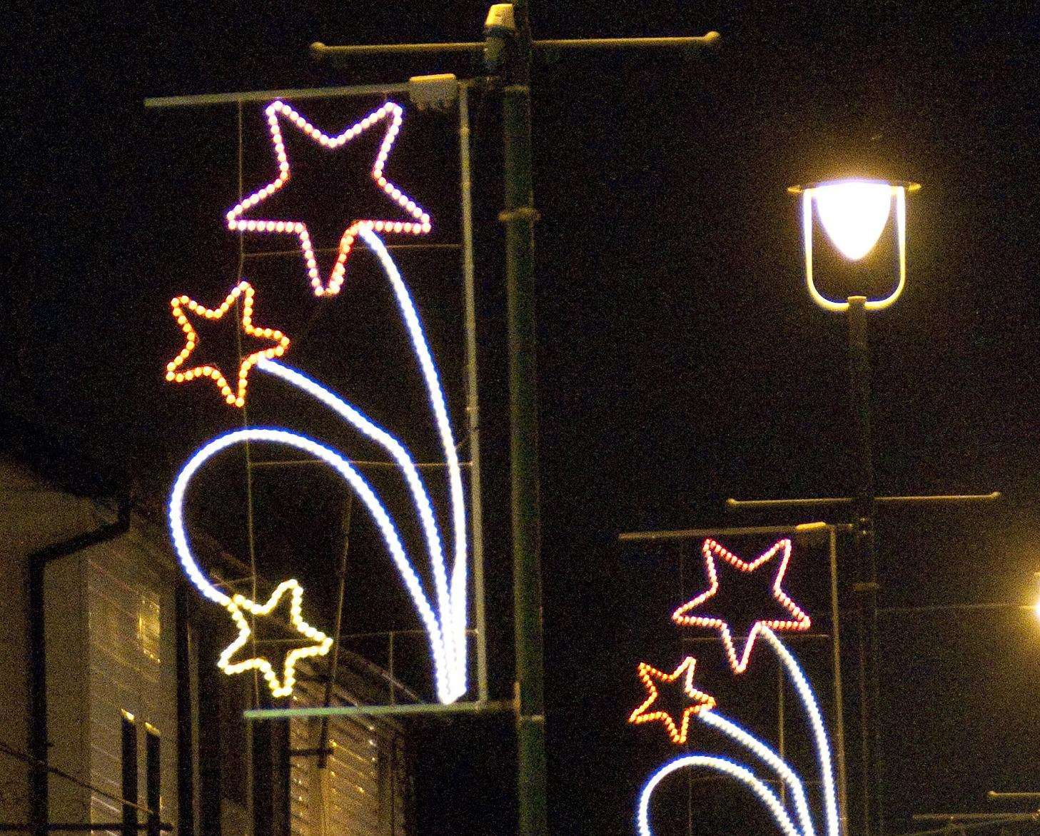 Sittingbourne Christmas lights will be switched on with a parade this year. Picture: Rob Canis