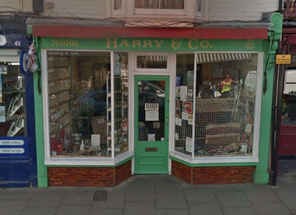 The former Harry & Co store in Harbour Street. Picture: Google Street View