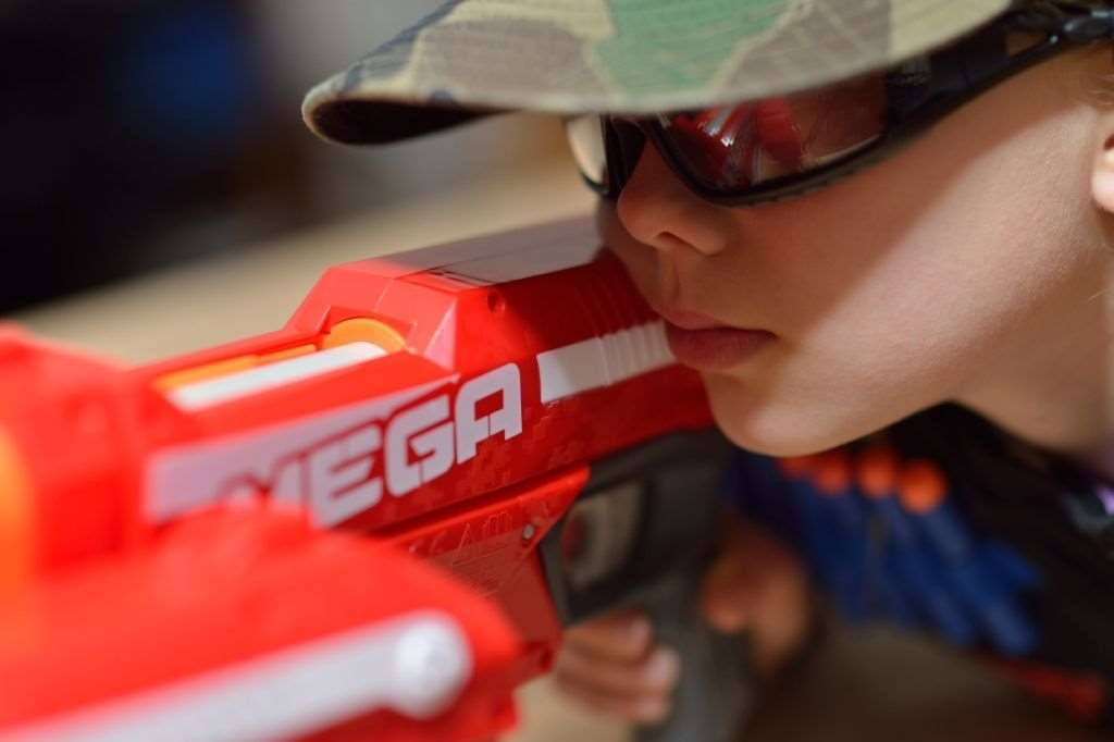 The Megablaster Arena is a must for Nerf fans