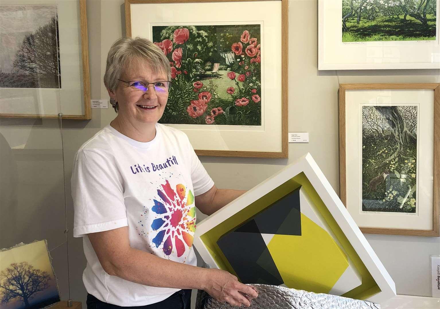 Hildegard Pax, ArtSpring Gallery manager