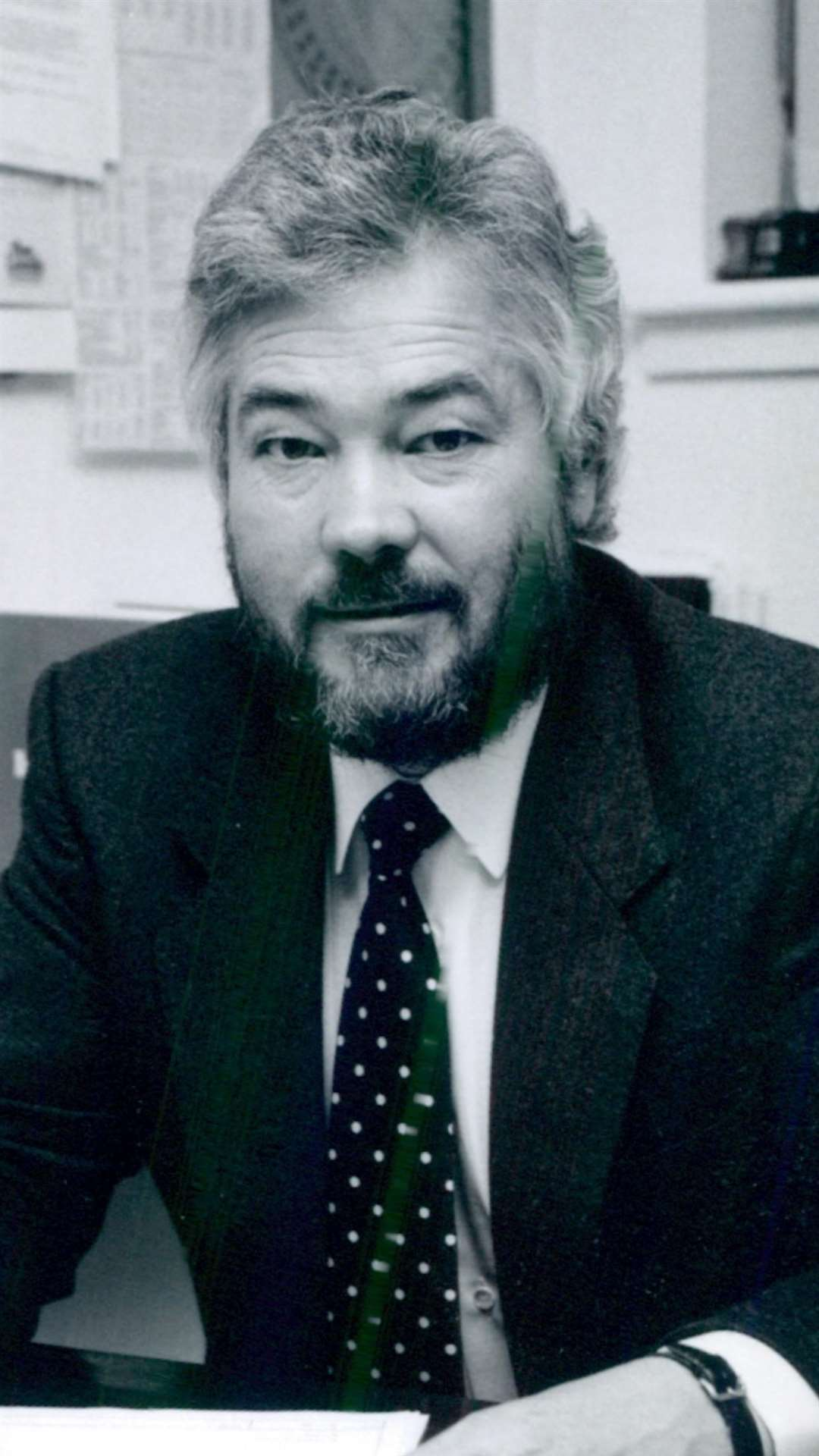 The late Richard Filmer in the late 1980s