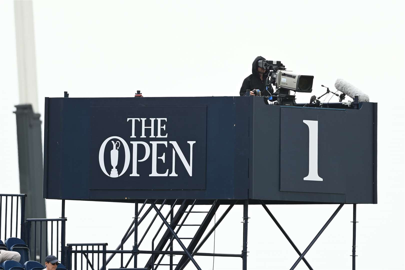 Television cameras broadcast the event around the world. Picture: Barry Goodwin (49262499)