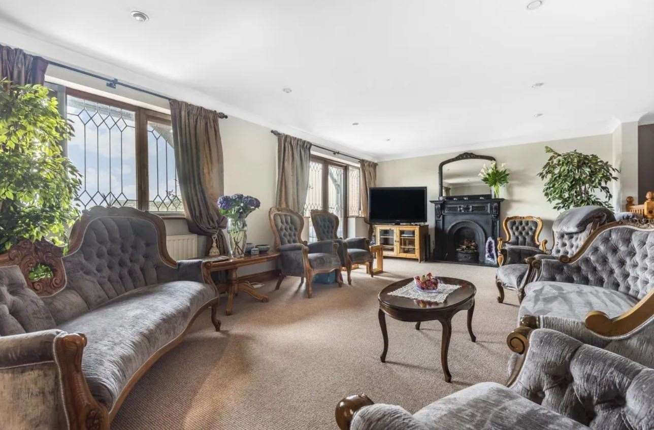 Inside the huge detached house. Picture: Zoopla / Fine & Country