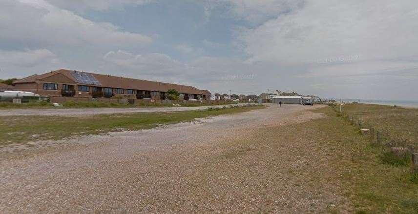 Coast Drive parking lot as it is now.  Photo: Google