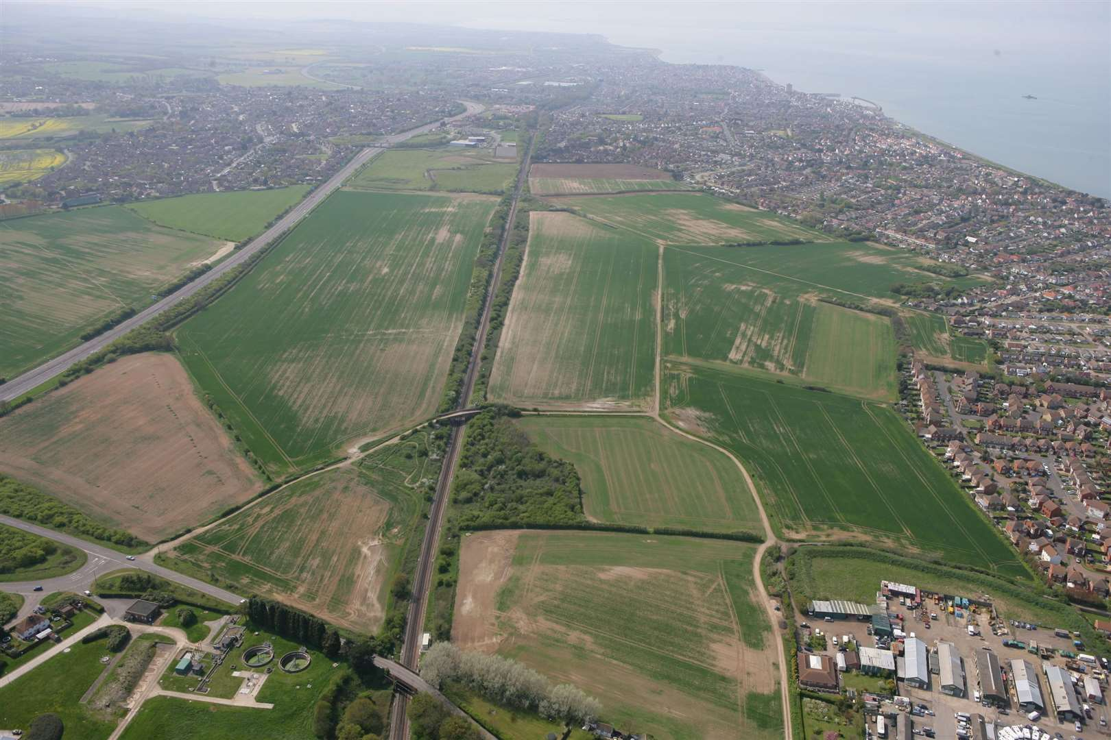 The land in Hillborough, Herne Bay, was earmarked for homes in the city council's Local Plan in 2017