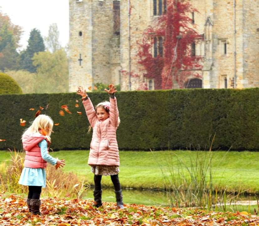 Autumn at Hever Castle