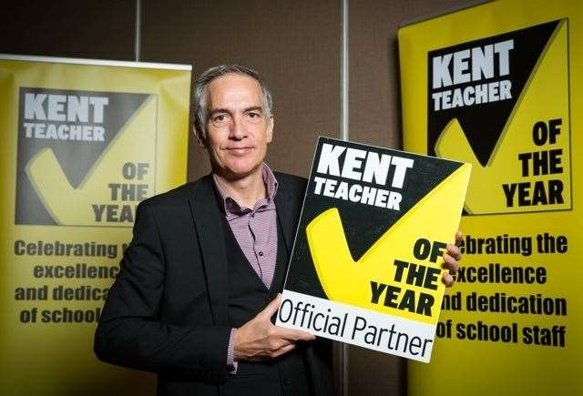Kent Further Education director Mark Hill is leading the search for FE nominations for the 2020 Kent Teacher of the Year Awards(27198369)