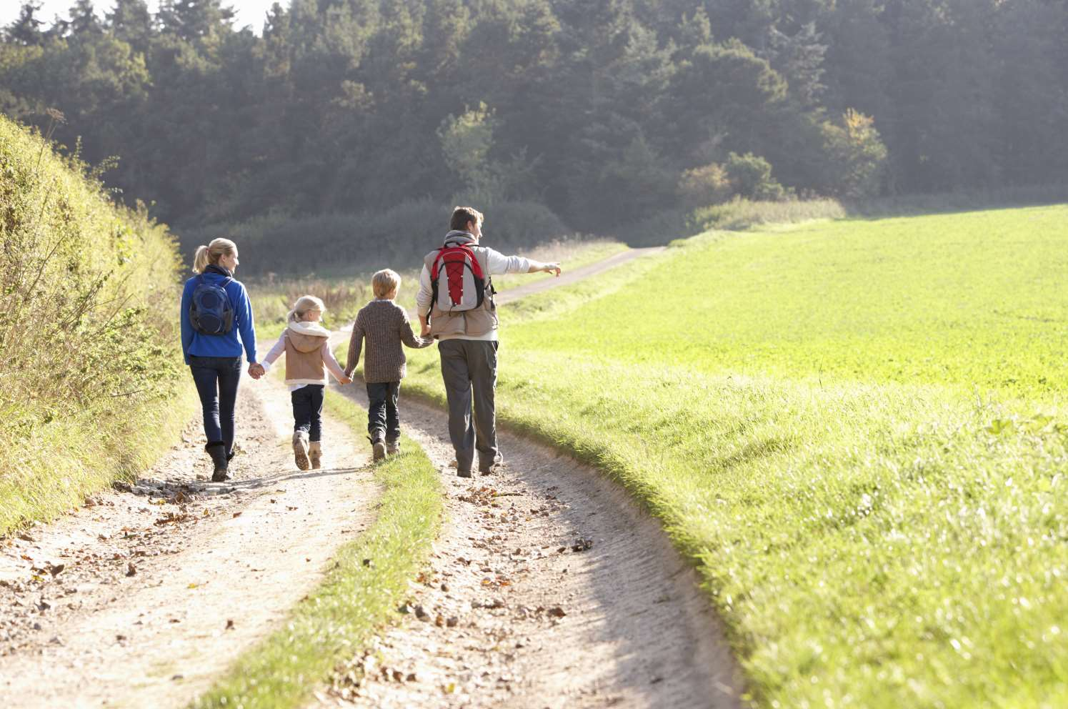 Head out on a family walk