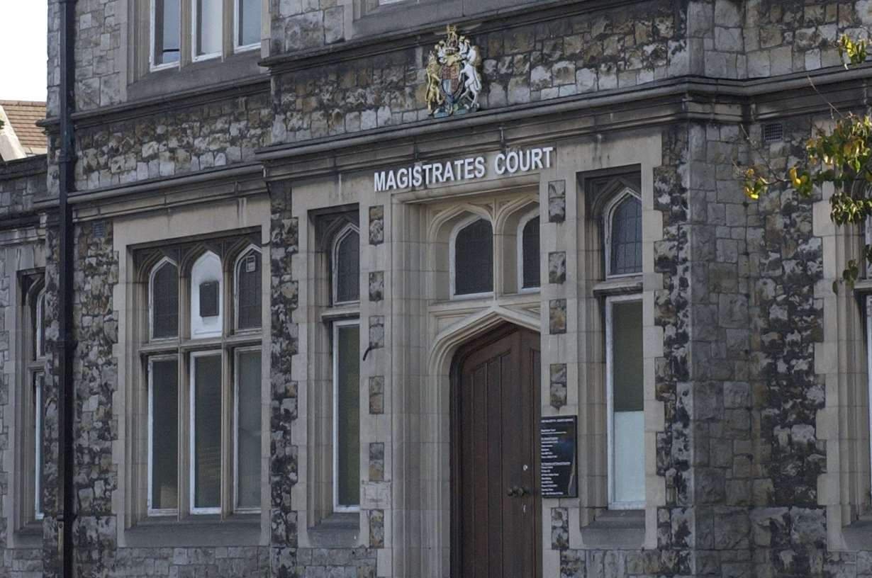 The pair appeared at Maidstone Magistrates' Court