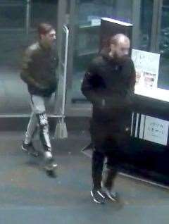 The suspects are thought to be in their late teens or early 20s. Picture: Kent Police (22863696)