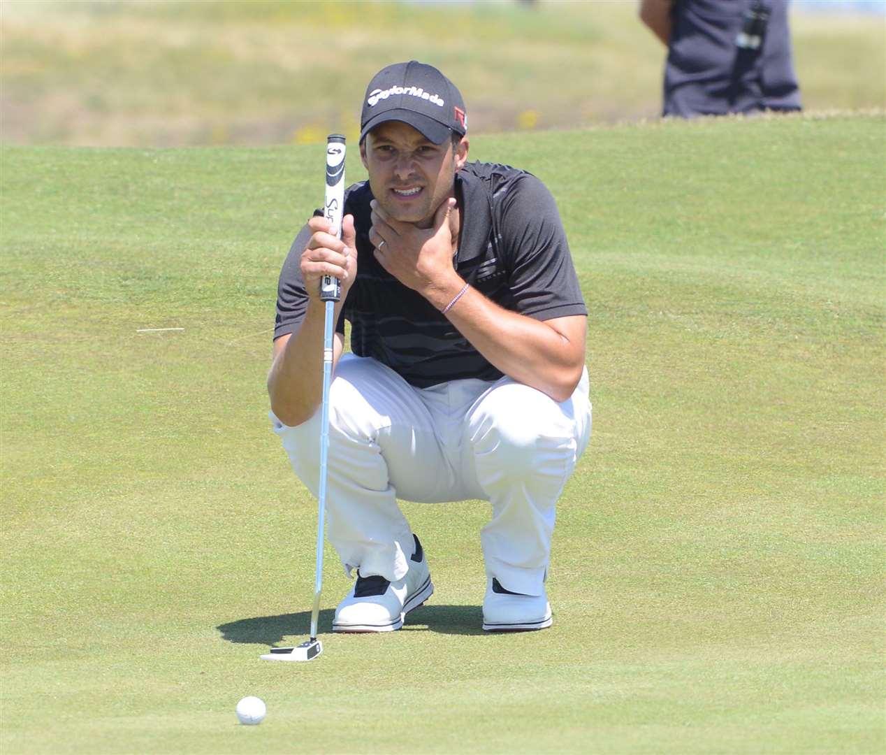 Canterbury Golf Club's Richard Wallis