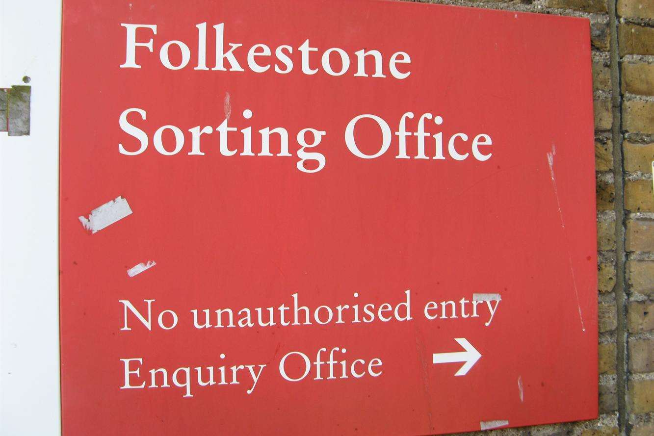 Thieving Darren Tredget moved to the Folkestone sorting office after starting with the Royal Mail in Ashford