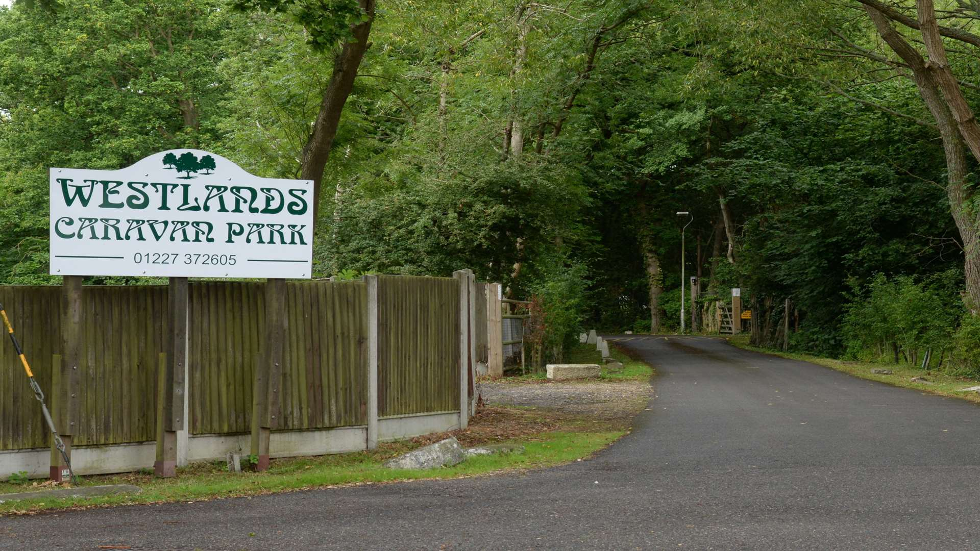 Westlands Caravan Park off Canterbury Road in Herne Common