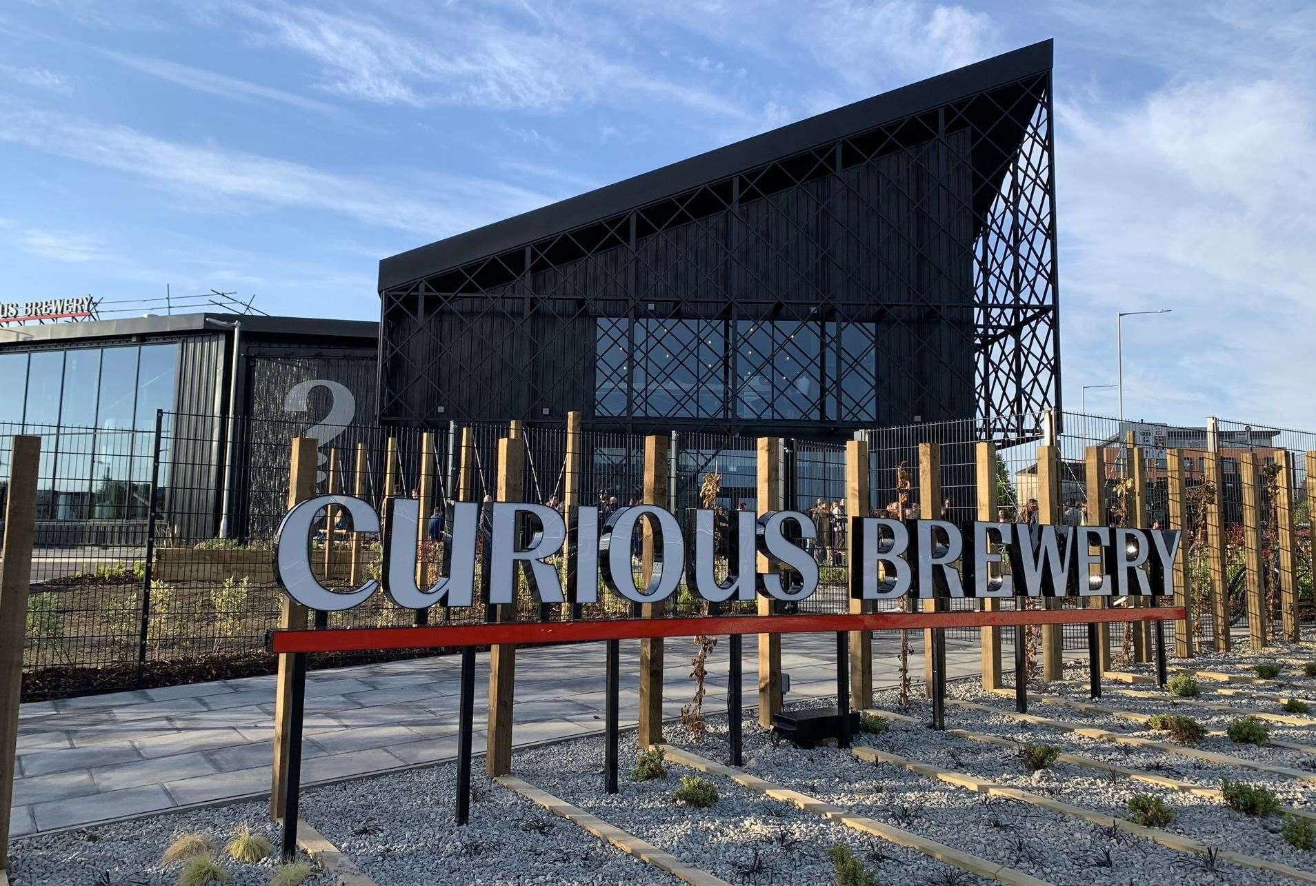 The Curious Brewery opened recently in Ashford