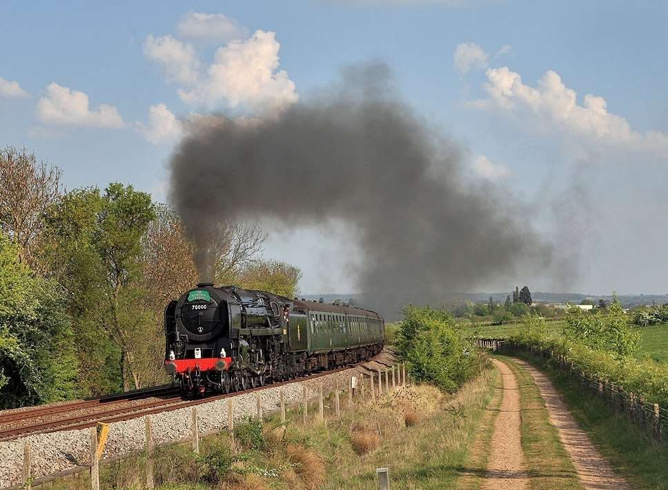 The journey from Bearsted to London was quicker by steam in the 1950s. Picture: Claire Newton, Steam Dreams