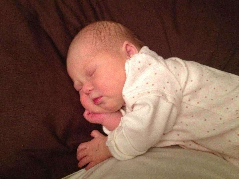 Alma tragically passed away at just three-weeks-old