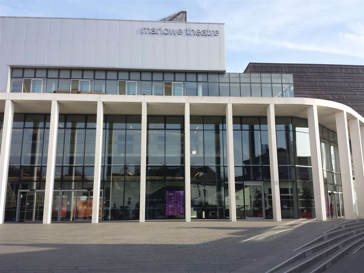 The Marlowe Theatre in Canterbury is set to reopen in June