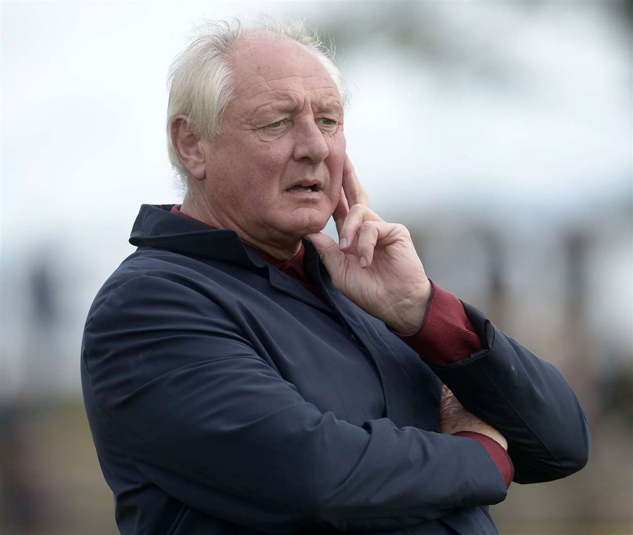 Folkestone manager Neil Cugley. Picture: Barry Goodwin (42535957)