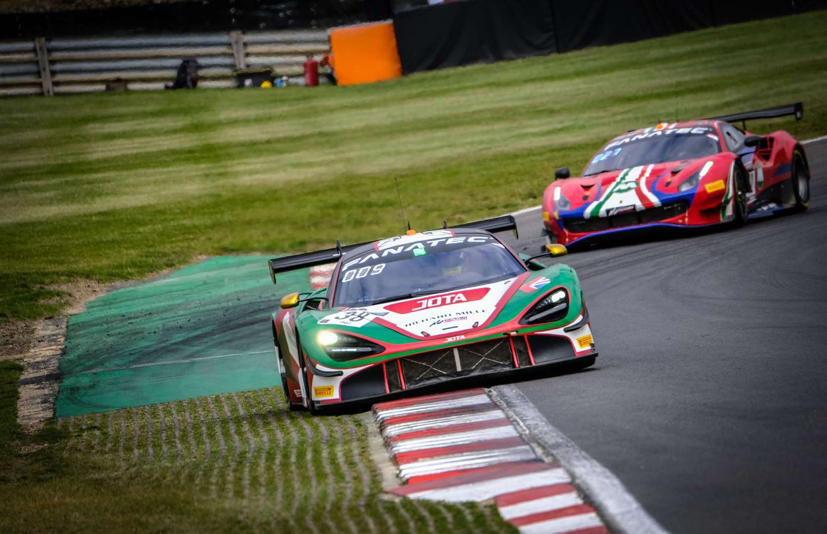 Jota has raced at Le Mans for years but rarely competes at Brands Hatch. Picture: SRO