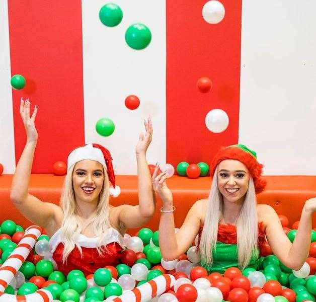 A festive Selfie Factory is at Bluewater