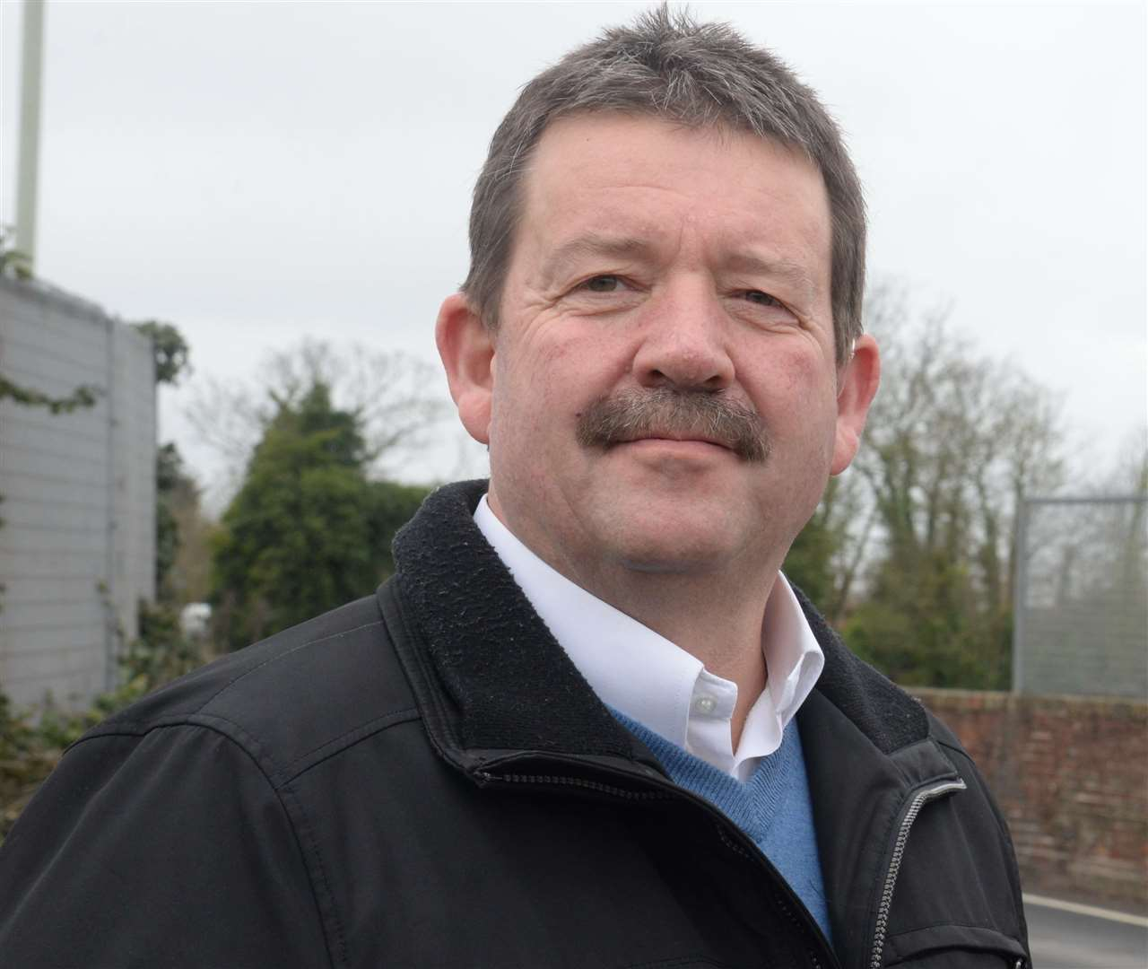 Beltinge councillor Ian Stockley