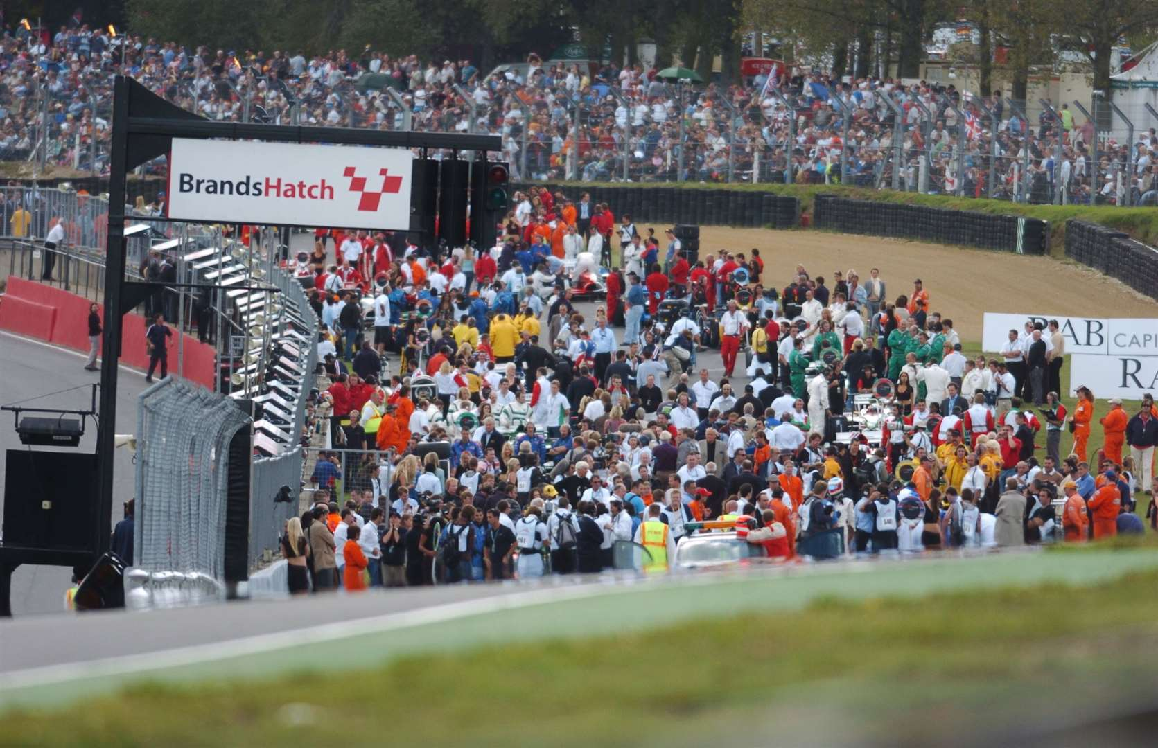 A full grid in 2005. Picture: Barry Goodwin