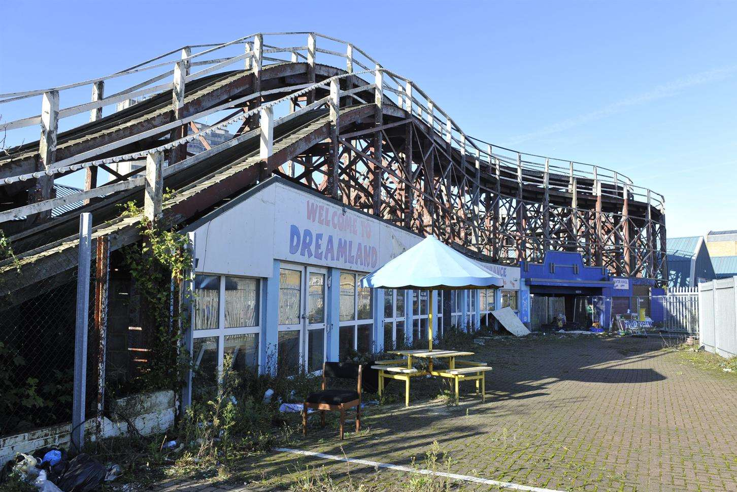 The Grade II* listed Scenic Railway will be restored for the reopening of Dreamland