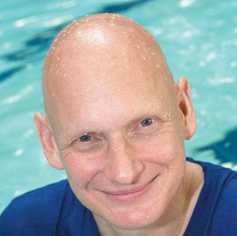 Olympic swimmer Duncan Goodhew