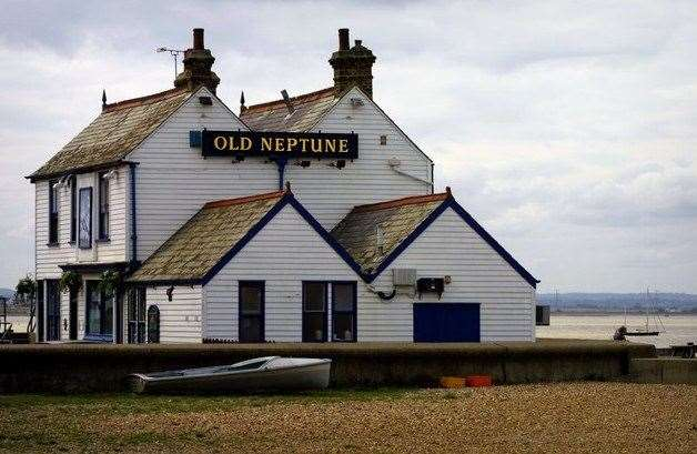 Dating from the early 19th century the Old Neptune - or The Neppy as it's affectionately known - is one of only a handful of pubs to be found on the beaches of Britain