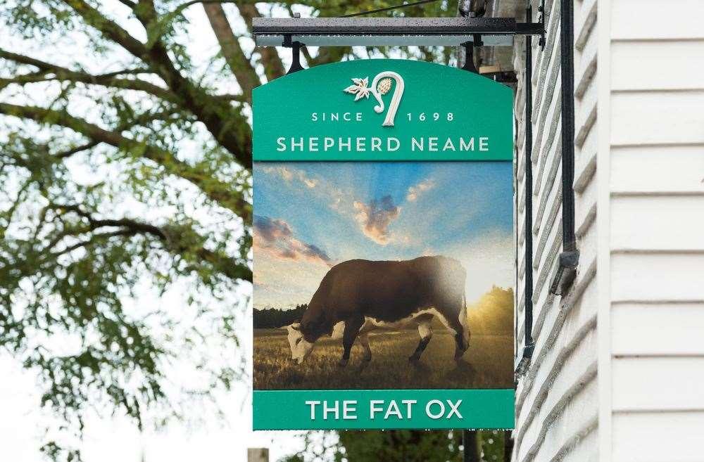 The Fat Ox in Tenterden has just undergone a major overhaul.  Photo: shepherd Neame