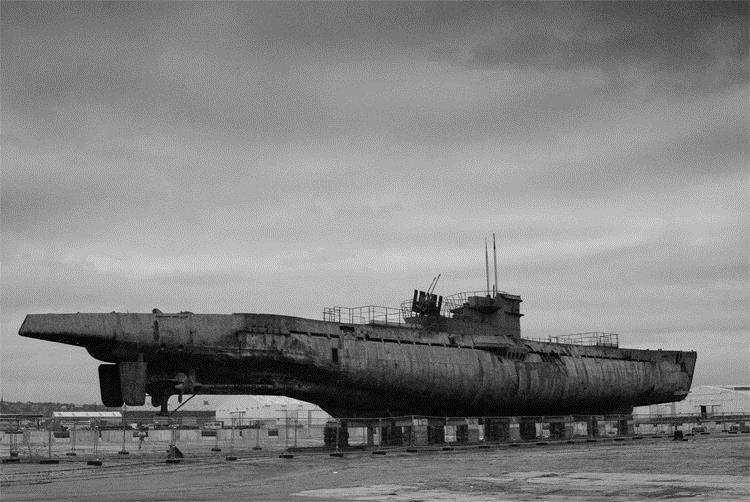A German U-boat. Picture: Wikicommons