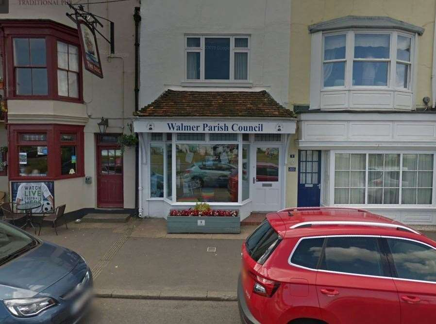 Walmer Parish Council current offices on The Strand are leased. Picture: Google Maps