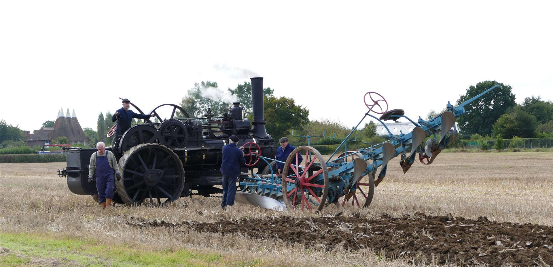 The Weald of Kent Ploughing Match will be held in Headcorn