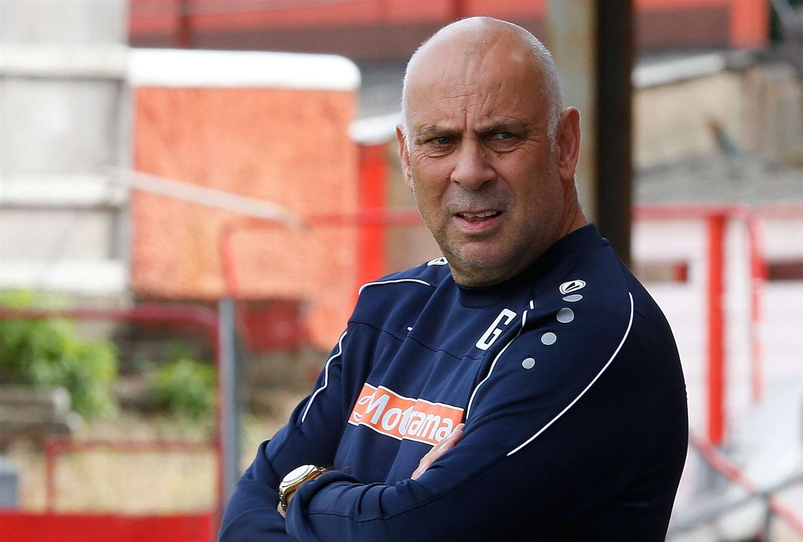 Garry Hill leaves Ebbsfleet with the club bottom of the table. Picture: Andy Jones