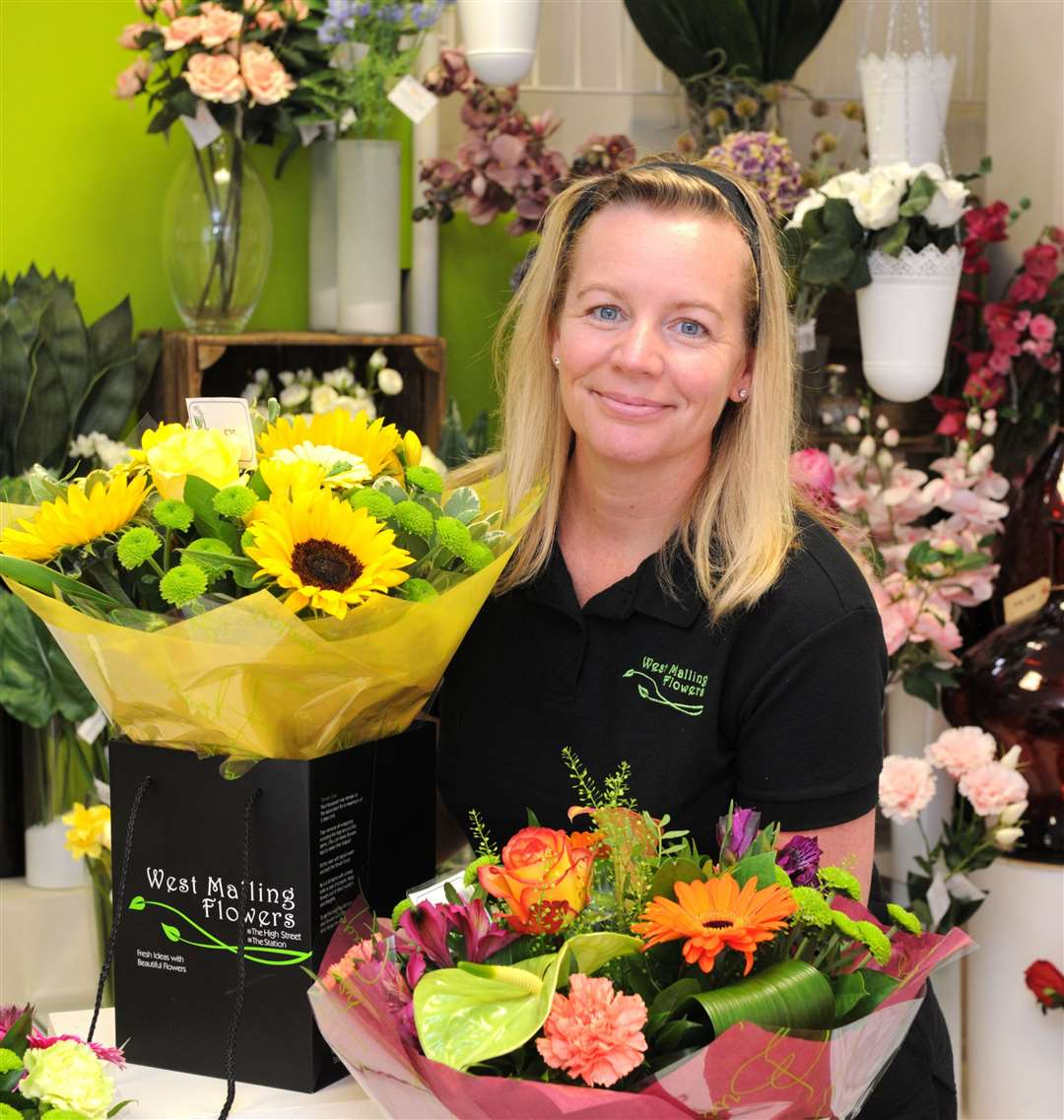 Nikki Meader of West Malling Flowers